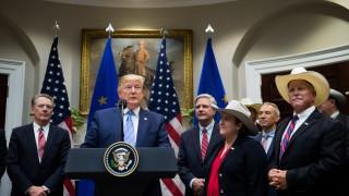 """Тръмп: САЩ ще продават """"страхотно американско говеждо"""" на ЕС"""