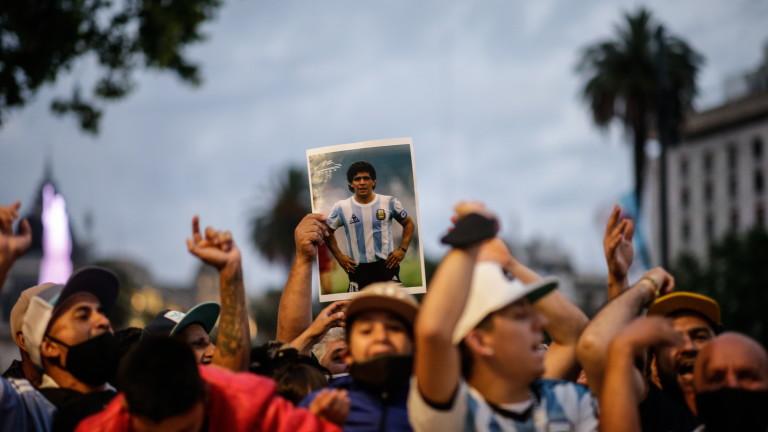 Обвиниха психиатърката на Марадона за смъртта на аржентинската легенда