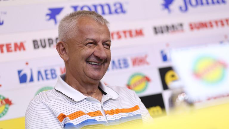 Собственикът на Локомотив (Пловдив) Христо Крушарски дадепресконференция в Пресклуб
