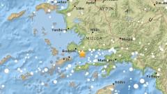 Земетресение 5,3 по Рихтер в Западна Турция