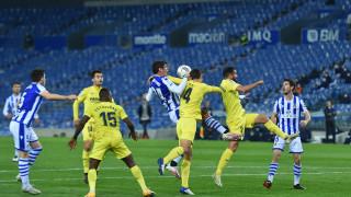 Реал Сосиедад и Виляреал си вкараха по един гол от дузпи в треньорско надлъгване