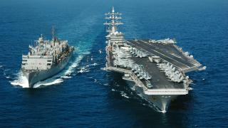 Индия и САЩ заедно правят самолетоносач