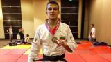 Божидар Темелков достигна до репешажите на Европейската отворена купа по джудо