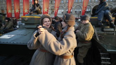 В Москва пресъздават военен парад от 7 ноември 1941 година