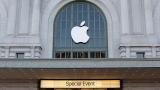 Акциите на Apple с исторически срив