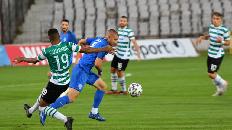 Арда - Черно море 1:0, домакините повеждат след спорен гол