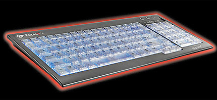 Излиза светеща клавиатура за геймъри