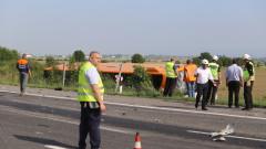 ТИР удари автобус по линията София-Лозен