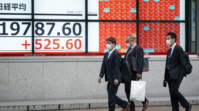 Икономиката на Япония ще се свие с 4,7% по време