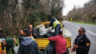"""Събраха над 2 тона боклук от резерват """"Ропотамо"""""""