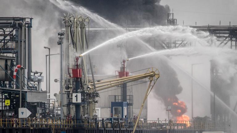Издирват няколко души след взрив в химическия концерн BASF