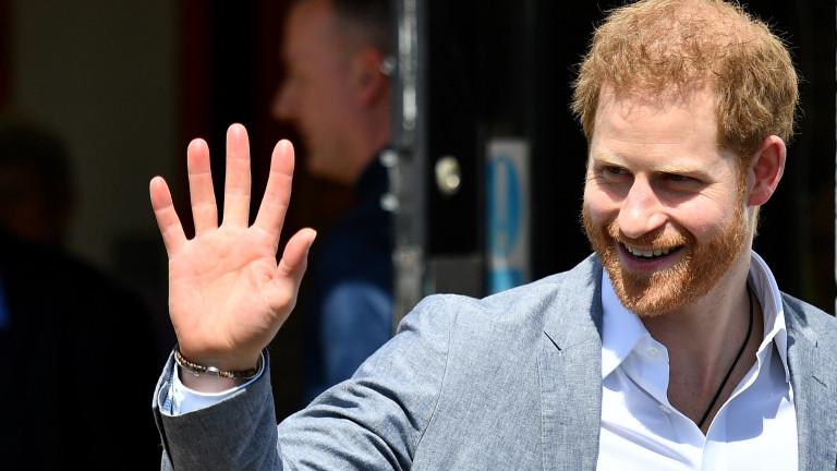 Принц Хари на 35