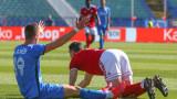 Ивайло Стоянов не даде чиста дузпа за ЦСКА срещу Левски
