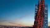Шокиращ небостъргач в Прага
