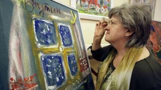 Продадоха картина на Путин за 1 млн. долара