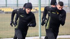 Маркиньос проведе първа тренировка в Ботев (Пловдив)