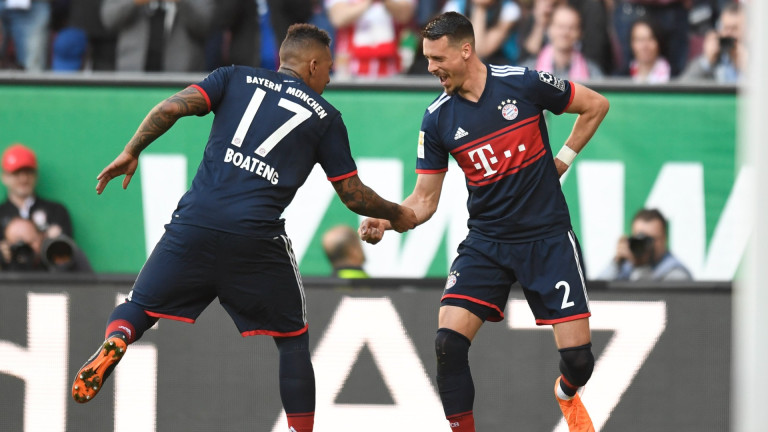 Играч на Байерн (Мюнхен) прие тежко новината, че е аут от Мондиал 2018