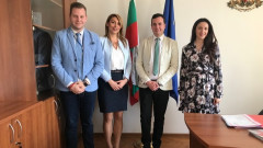Зам.-министър Павлов проведе работни срещи с младежки организации