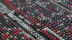 Кризата в автомобилната индустрия в снимки (галерия)