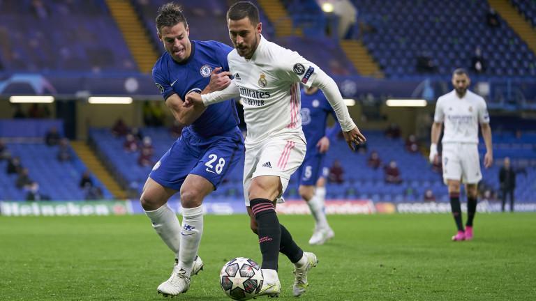 Звездата на Реал (Мадрид) - Еден Азар предизвика възмущението на