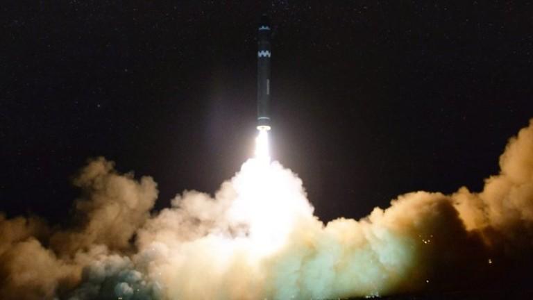 САЩ проведоха изпитания на междуконтинентална балистична ракета