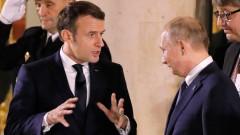 Макрон се обади на Путин, двамата призовават за сдържаност в Ирак и Иран