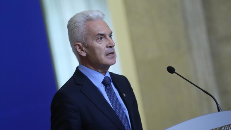 Волен Сидеров също дойде на заседанието на Министерски съвет. По-рано