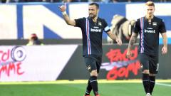 """Сампдория бие, 36-годишният Фабио Куалярела над всички (Резултати от Серия """"А"""")"""