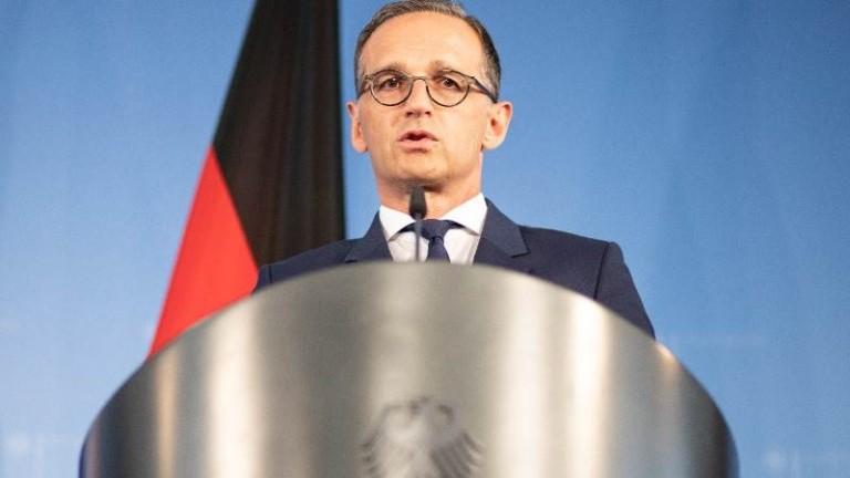 Външният министър на Германия Хайко Маас обяви, че Европейският съюз