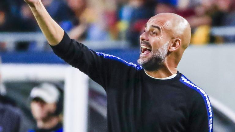 Мениджърът на Манчестър Сити Хосеп Гуардиола сподели, че е много