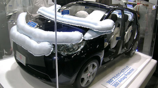 Нова Airbag система предпазва пешеходци при удар