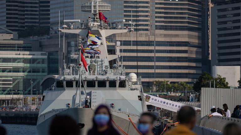 Глобалните военни разходи, движени отчасти от китайската военноморска експанзия, достигнаха