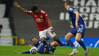 Експериментален Юнайтед позволи на Лестър да се утвърди в Топ 4