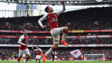 Арсенал победи Суонзи с 2:1