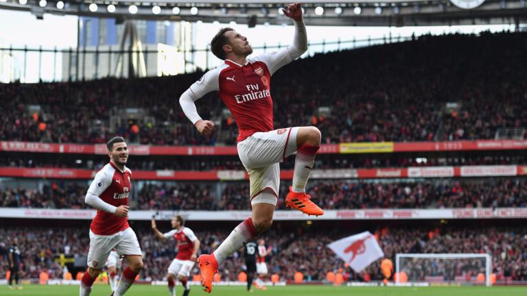 Аарън Рамзи: Настъпват вълнуващи времена за Арсенал