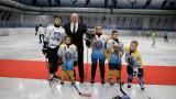 Министър Кралев откри реновираната тренировъчна зала на Зимния дворец на спорта