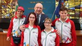Министър Кралев изпрати българските атлети на Световните летни игри Спешъл Олимпикс