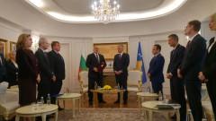 Премиерът Борисов удостоен с Ордена на независимостта на Косово