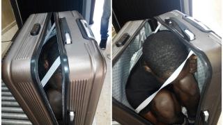 Хванаха жена с мигрант в куфар в Испания