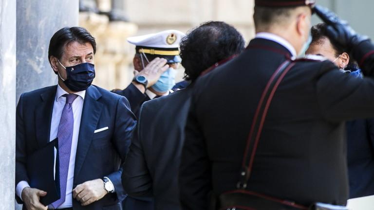 Премиерът на Италия Джузепе Конте приветства предложението на Европейската комисия