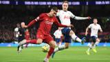 Тотнъм - Ливърпул 0:1, гол на Фирмино