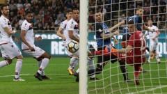 """Интер се отпуши срещу Каляри и излезе трети в Серия """"А"""" (ВИДЕО)"""