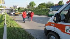 Градски автобус блъсна жена в Пловдив
