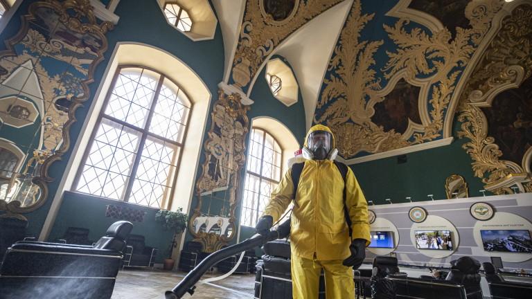 Новозаразените с новия коронавирус (COVID-19) в Русия през изминалото денонощие