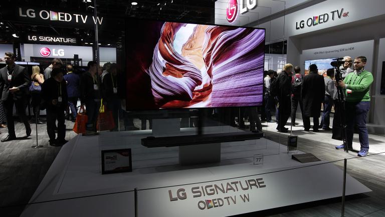 Samsung, LG и Sony показаха нови супертелевизори