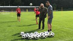 Гриша Ганчев с ЦСКА в Дания