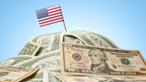 Дефицитът на САЩ вече прехвърли $1 трилион. А годината все още не е приключила