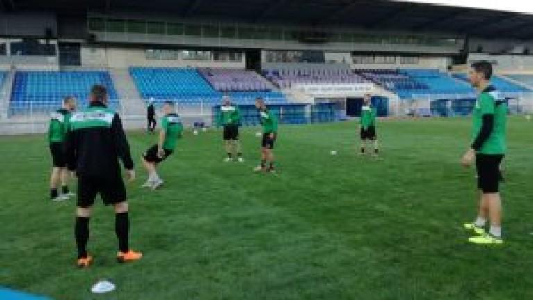 """""""Шейховете"""" тренират в Бургас преди мача с Ботев (Гълъбово)"""