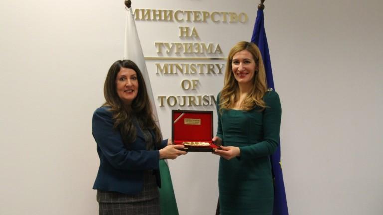 Херо Мустафа впечатлена от резултатите в българския туризъм