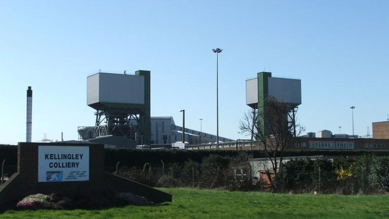 Мината Kellingley Colliery някога изхранваше района, а сега е само спомен